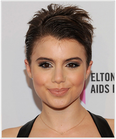 Sami Gayle Short Straight Hairstyle