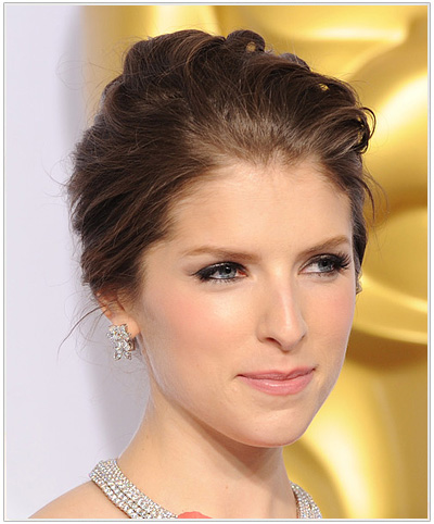 Anna Kendrick Formal Updo from the Academy Awards 2015.