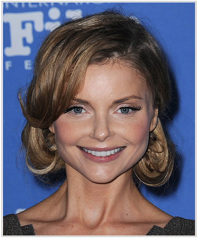 Izabella Miko Formal Updo.