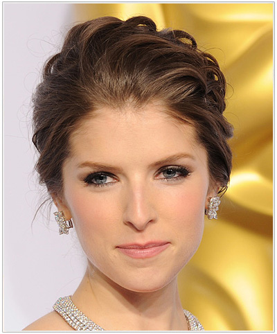 Anna Kendrick Formal Updo.