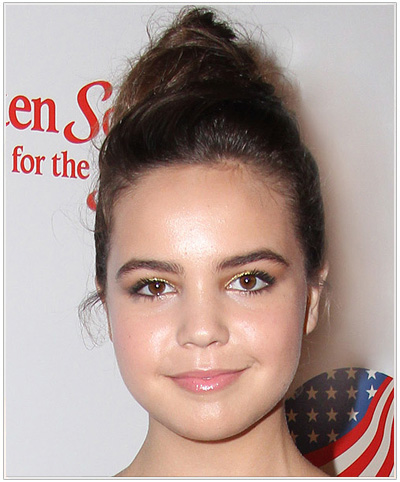 Bailee Madison Casual Updo.