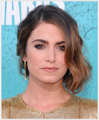 Nikki Reed Formal Updo.
