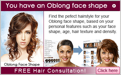 Hair Consultation for an Oblong Face Shape