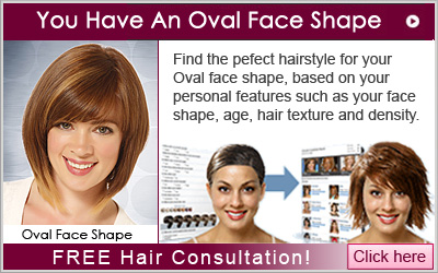 Hair Consultation for an Oval face shape