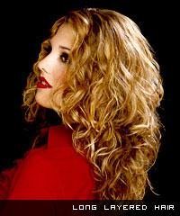 Стрижки женские на вьющиеся длинные волосы 58