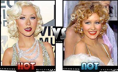 Christina Aguilera hairstyles