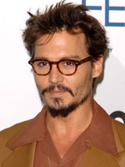 Johnny Depp hairstyles