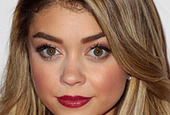 Sarah hyland hairstyles for heart shaped faces