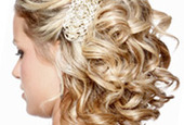 Party hairstyling tips curls side