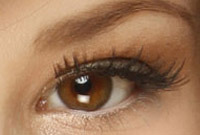 Eyelash makeup tips side