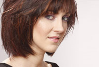 Hairstyles for your triangular face shape side