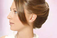 Updo hair accessory ideas side