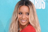 Hairstyle evolution ciara ombre hair color side