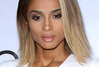 Ciara ombre hairstyle side
