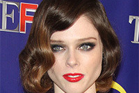 Coco rocha hairstyles and makeup side