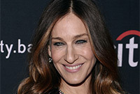 Sarah jessica parker updated hairstyle and color side