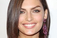 Alyssa miller hairstyles from long to short side