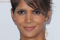Halle berry hairstyles then and now side