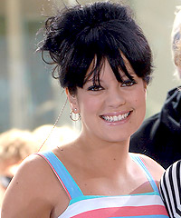 Lily Allen hairstyles