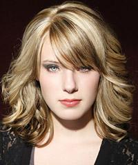 Salon wavy hairstyles