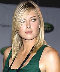 Maria Sharapova hairstyles