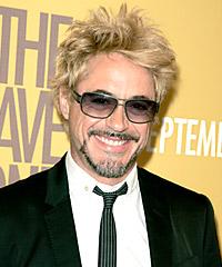 Robert Downey hairstyles
