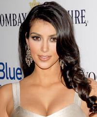 Kim Kardashian hairstyles
