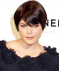 Selma Blair Wedge Hairstyle