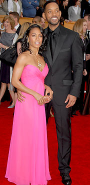 Jada Pinkett Smith hairstyles and Will Smith hairstyles