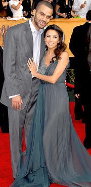 Tony Parker hairstyles and Eva Longoria hairstyles