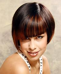 Salon straight short hairstyles