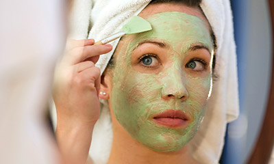 face mask beauty treatment