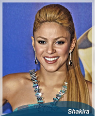 Shakira hairstyles