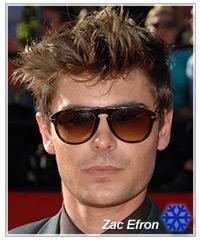 Zac Efron hairstyles