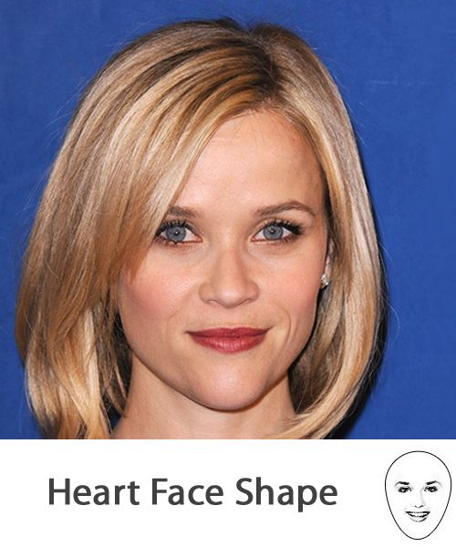The Right Hairstyles For Your Heart Face Shape
