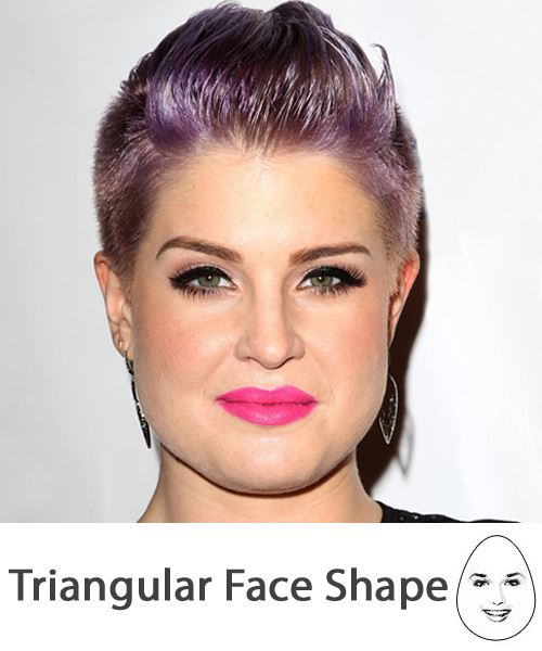 The Right Hairstyles for Your Triangular Face Shape