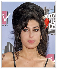 Amy Winehouse hairstyles