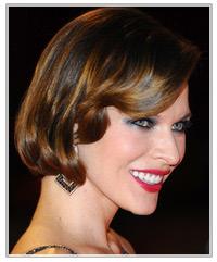 Milla Jovovich hairstyles