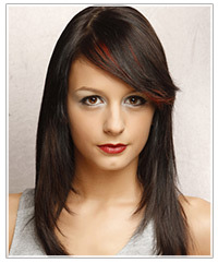Model with deep side part