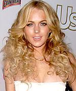 Lindsay Lohan bohemian hairstyle