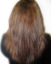 Cheveux raides