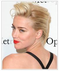 Amber Heard hairstyles