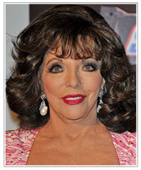 Joan Collins hairstyles