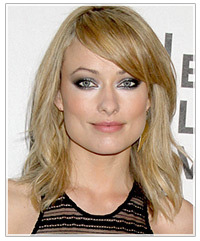shaggy style haircuts wilde s silver smokey thehairstyler 5323 | olivia wilde silver smokey eyes 1