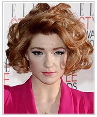 Nicola Roberts hairstyles