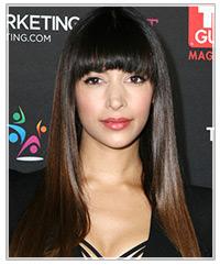 Hannah Simone hairstyles