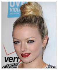 Francesca Eastwood hairstyles
