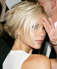 Victoria Beckham bob hairstyle - Right Side