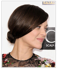 Marion Cotillard hairstyles
