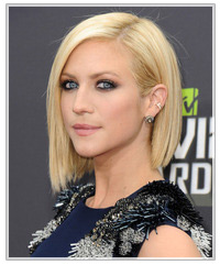 Brittany Snow hairstyles